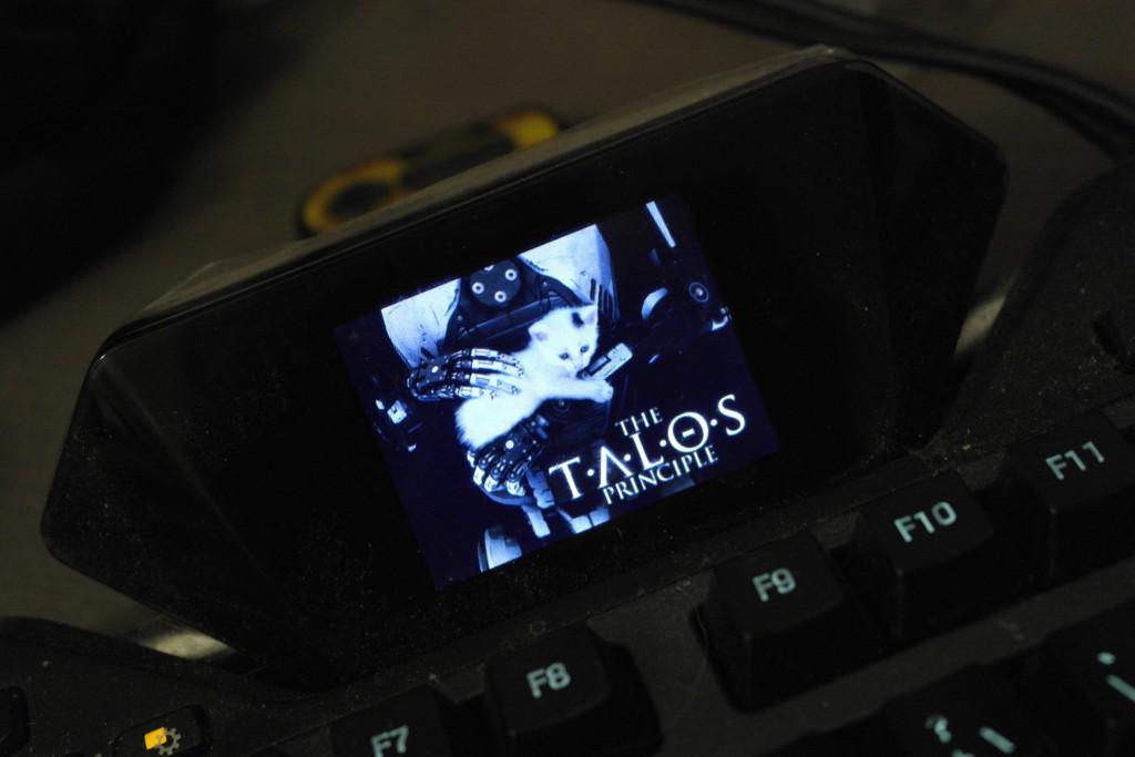Jeg ble overrasket over at Talos hadde en veldig sterk integrasjon med G19 tastaturet mitt! Viste all slags statusoppdateringer og slikt!