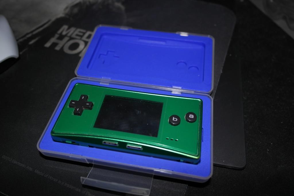 Super avsporing. Fant en skikkelig solid beskyttelse til GBA Micro for 19 kr på GAME! Filler-bilde er filler-bilde.