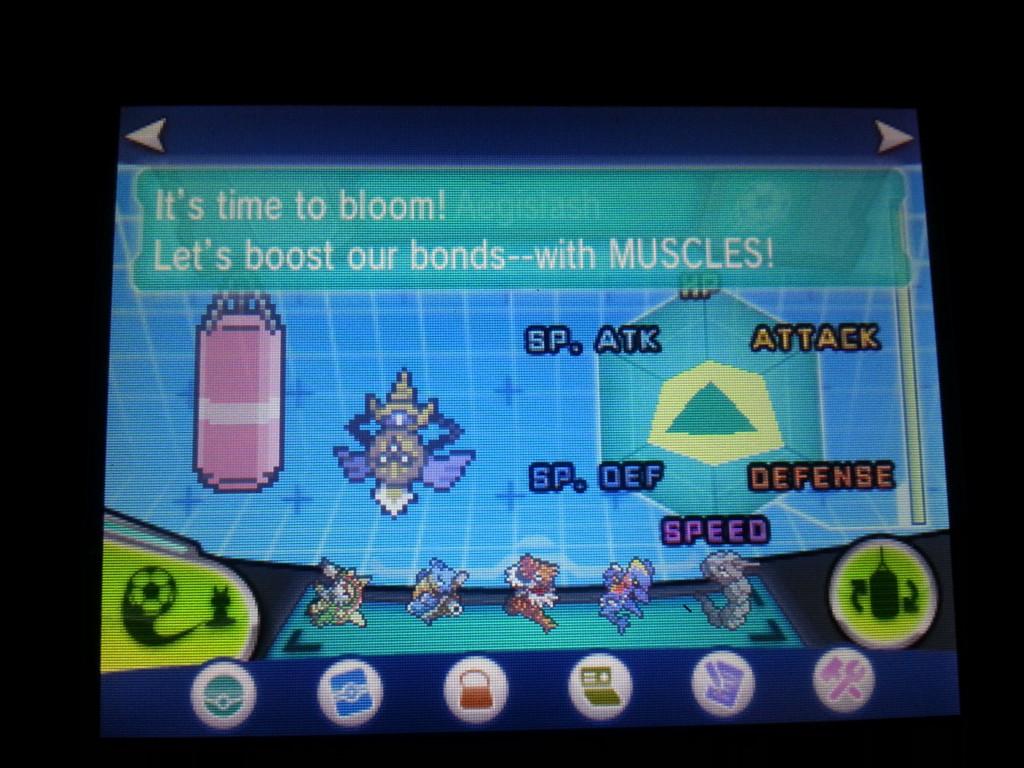 Syns Pokémon har kommet med mange gode kommentarer til Super Training :P