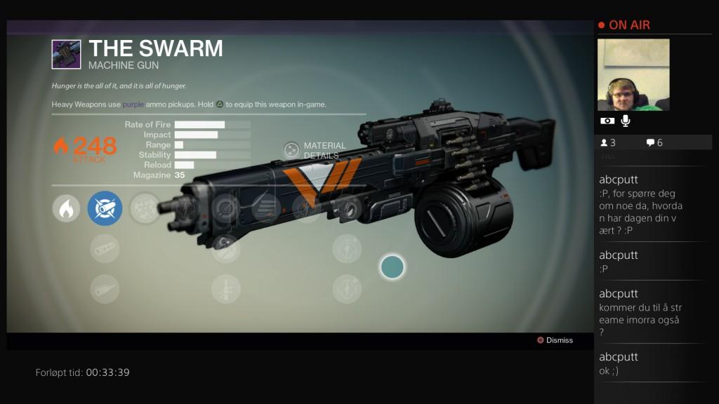 Ved å bruke et våpen mye nok kan man, sammen med grindede ressurser, oppgradere våpenet slik at det blir tilpasset deg.